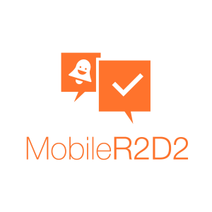 logo Mobile R2D2 Orange
