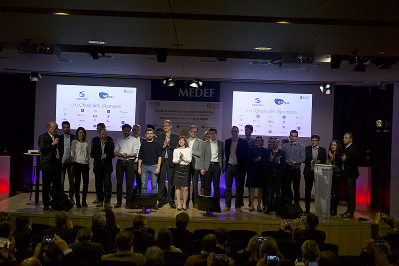 Les photos du challenge Innocherche 2017
